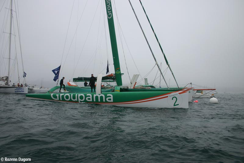 Photo de Groupama - Franck Cammas